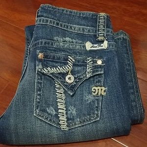 Miss Me size 27 jeans straight cut